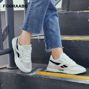 New Women's Casual Shoes, Flats, Breathable Autumn Women Shoes, Female Zapatos Mujer