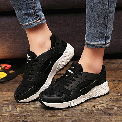 Trainers Sneakers, Women's Casual Shoes, Air Mesh, Girls Canvas Shoes