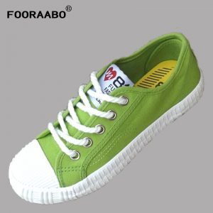 New Women's Shoes 2018, Girls Casual Canvas Shoes, Breathable Lady Walking Shoe