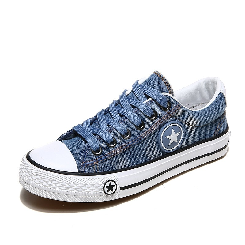 2019 Women's Sneakers, Denim, Casual Shoes, Female Canvas Shoes 12